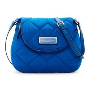 NWT* MARCJ JACOBS* Quilted Nylon Mini Messenger Ba